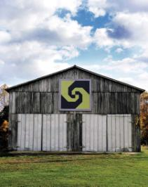 Snails Trail Barn Quilt owned by Donna Sue Groves